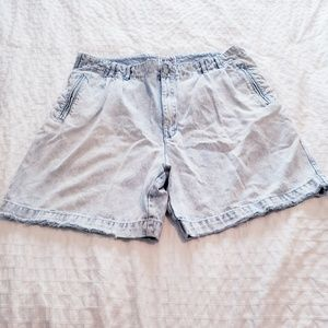 Other - 80's Vintage Halifax Acid Wash Jean Shorts 40
